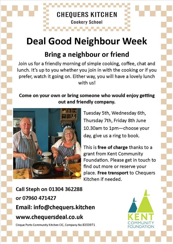 Photo for the event - Deal Good Neighbour Week free lunch