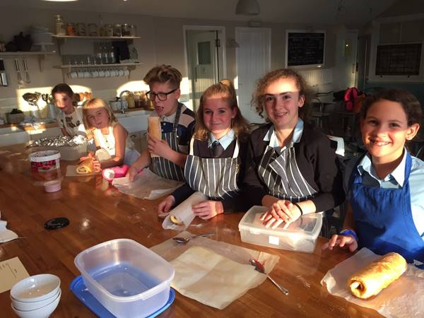 Photo for the event - Baking Morning for Children - Christmas Yule Log
