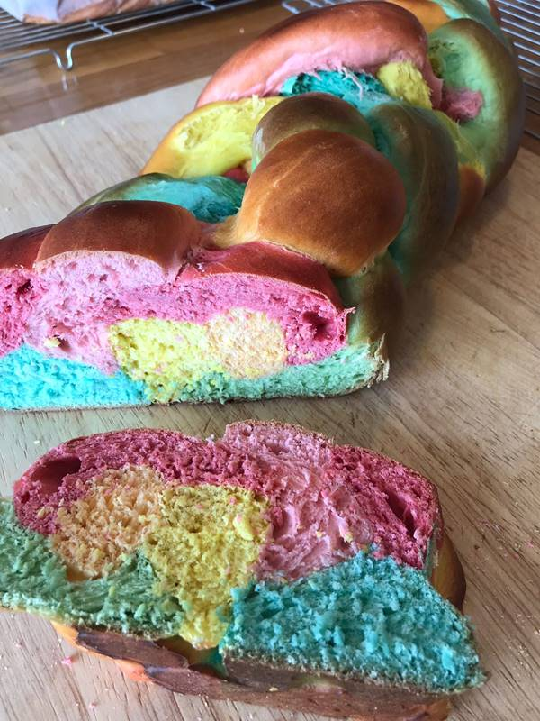 Photo for the event - Family Bread making - Rainbow loaf & Pizza