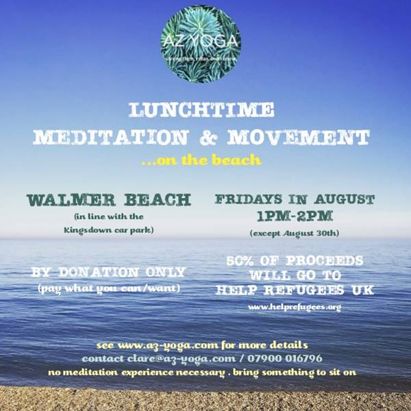 Photo for the event - Lunchtime Movement & Meditation