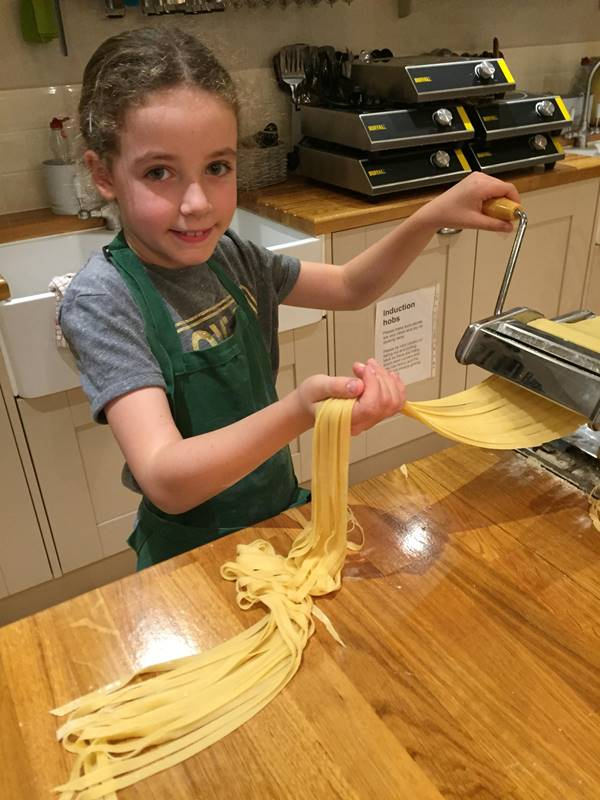 Photo for the event - Kids Cookery Homemade Pasta & Bolognaise