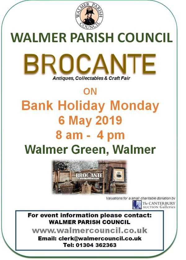 Photo for the event - Brocante - Walmer Parish Council