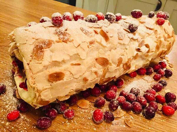 Photo for the event - Xmas Workshop - Cranberry Orange Meringue Roulade