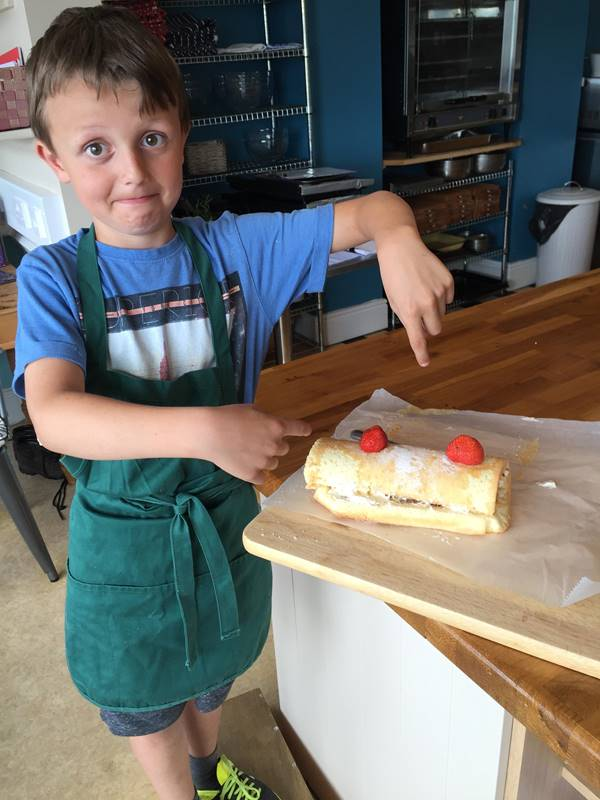 Photo for the event - Kids' Baking Morning - Swiss Roll